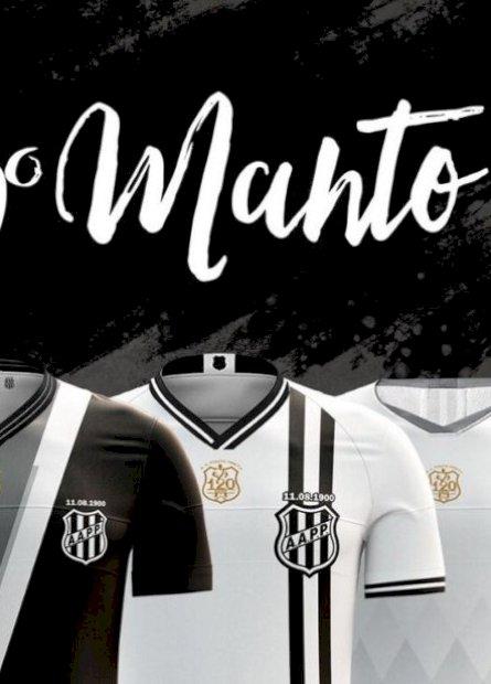 Pensada e escolhida por torcedores, Ponte Preta lança a nova terceira camisa para celebrar seus 120 anos