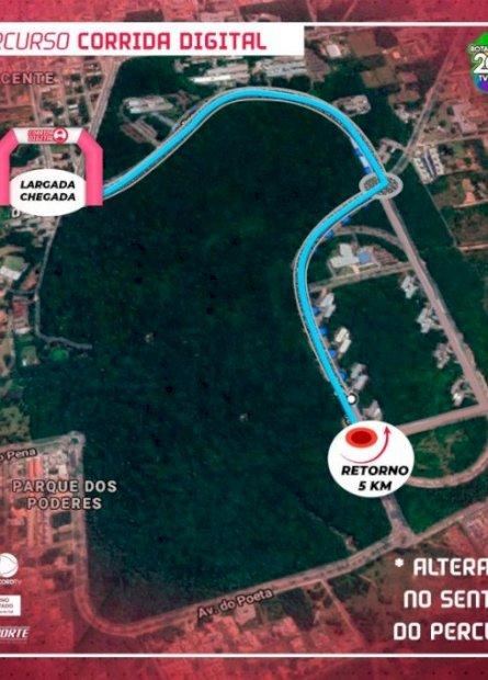 Em meio à pandemia, Fundesporte protagoniza novo conceito de corrida de rua no país