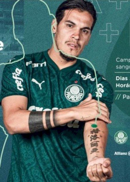 Palmeiras promove campanha de doação de sangue nesta semana