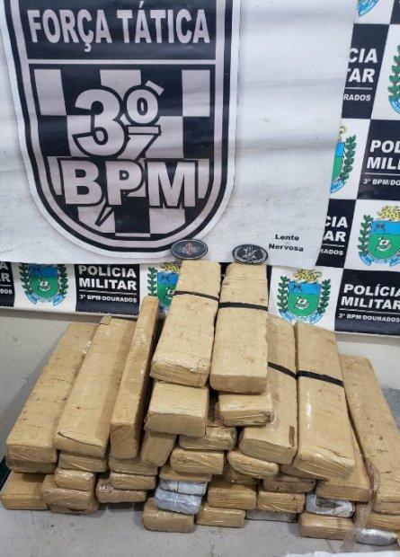 Força Tática prende 4 pessoas por tráfico de drogas em Dourados