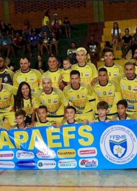 Apaefs é MS na Copa Brasil de Futsal e precisa de ajuda