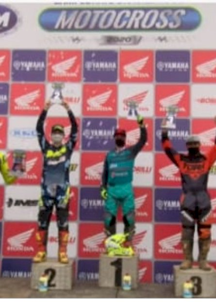 Piloto do MS fica na segunda colocação no Brasileiro de Motocross em SC