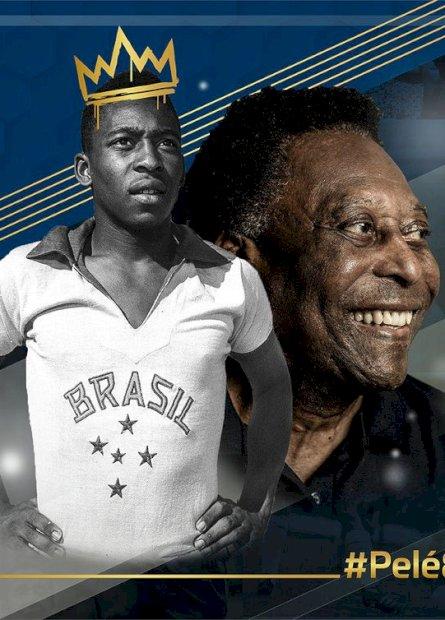 Clubes eastros do futebol prestam homenagem pelos 80 anos de Pelé